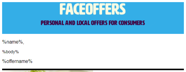 Sendgrid email template faceoffers see how offerimage and offerurl are used below in the sendgrid code editor maxwellsz